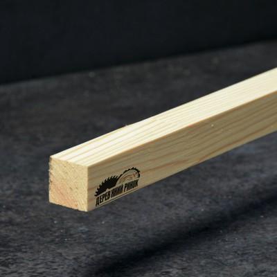 Брус струганий сосна 25*25*2000 мм вищий гатунок
