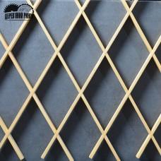 Декоративна решітка 1000*2000 мм (103 мм)