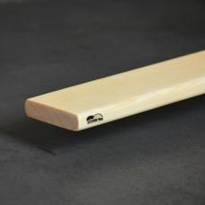 Рейка стругана сосна фігурна 15*40*2000 мм вищий гатунок