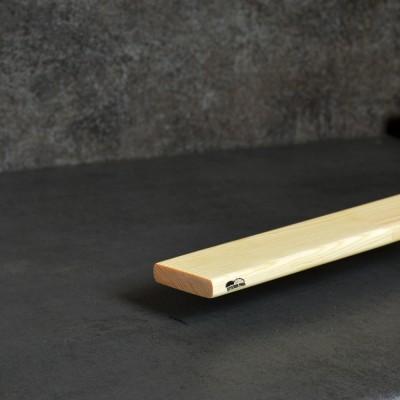 Рейка стругана сосна фігурна 15*50*2000 мм вищий гатунок