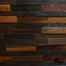 Дерев'яна мозаїка Brick Дуб Thermo Wood