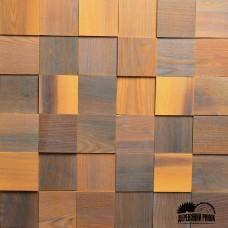 Дерев'яна мозаїка Pixel Smoke