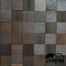 Дерев'яна мозаїка Pixel Ice